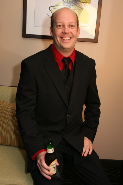 July 23, 2011 in my first suit in over 20 years. Not bad eh?