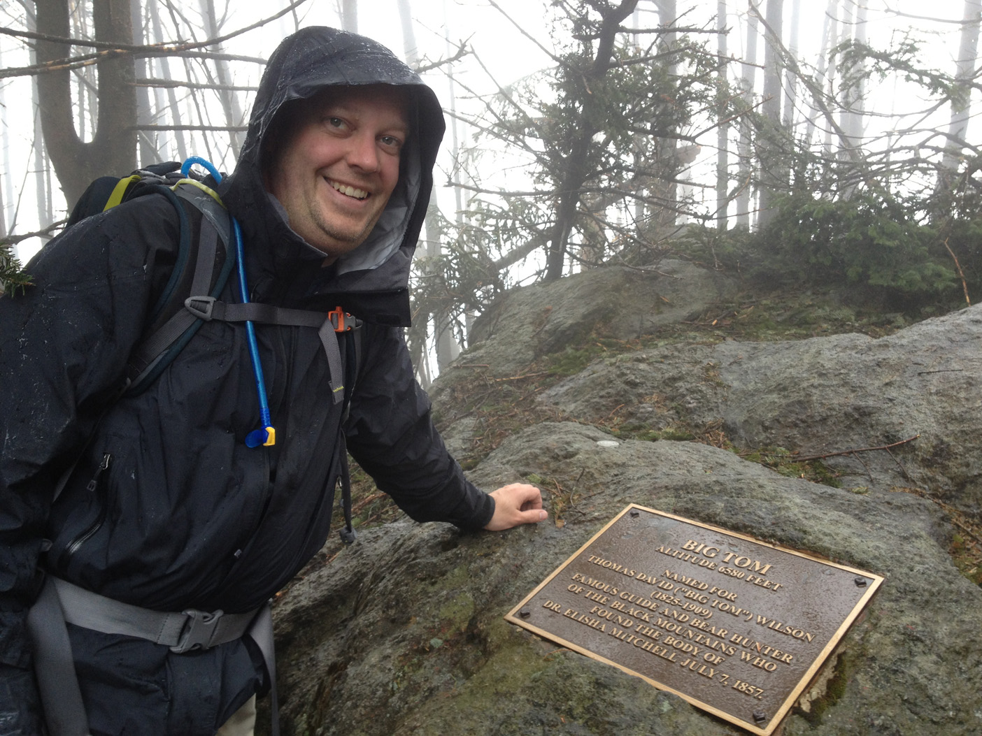Big Tom summit at 6580', the 4th of 6 of the 6000'+ peaks on the Black Mountain Crest Trail.
