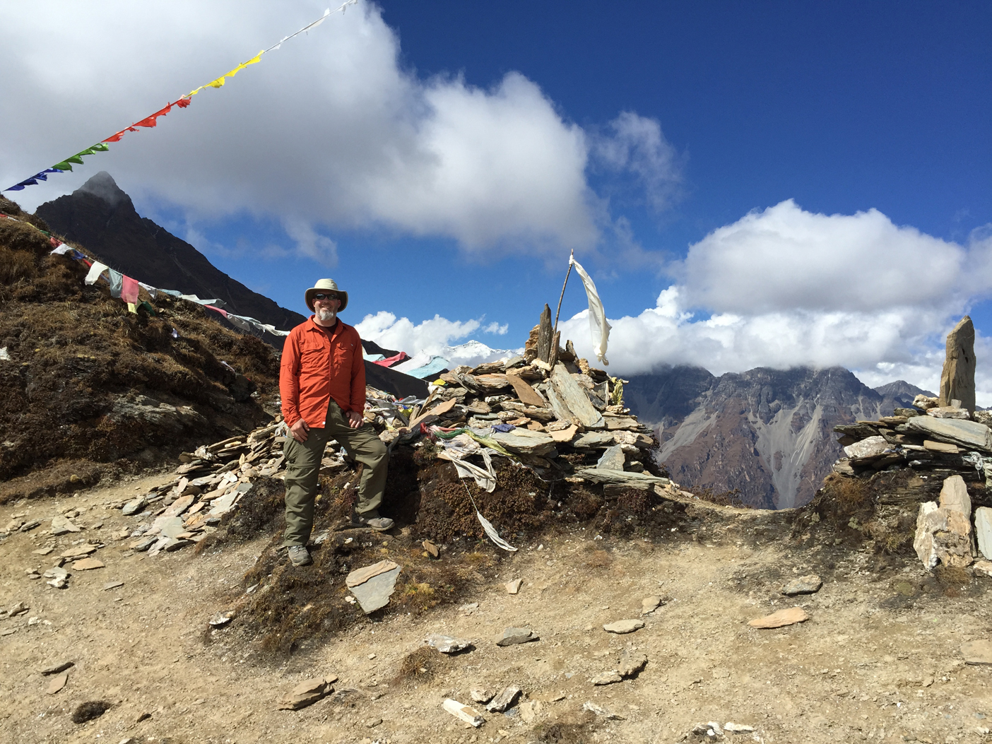 Takhung La Pass (2nd mountain pass on the trek)